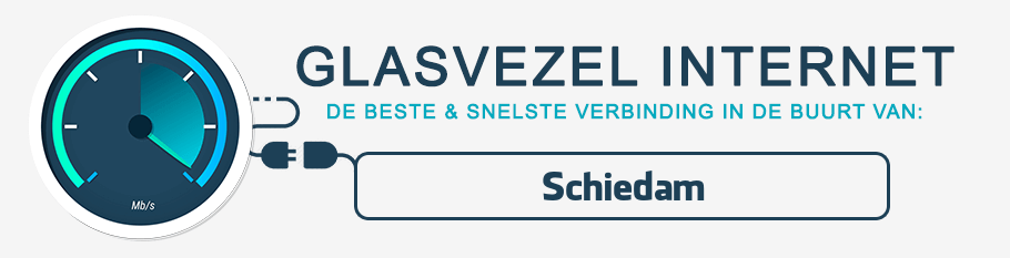 glasvezel internet Schiedam